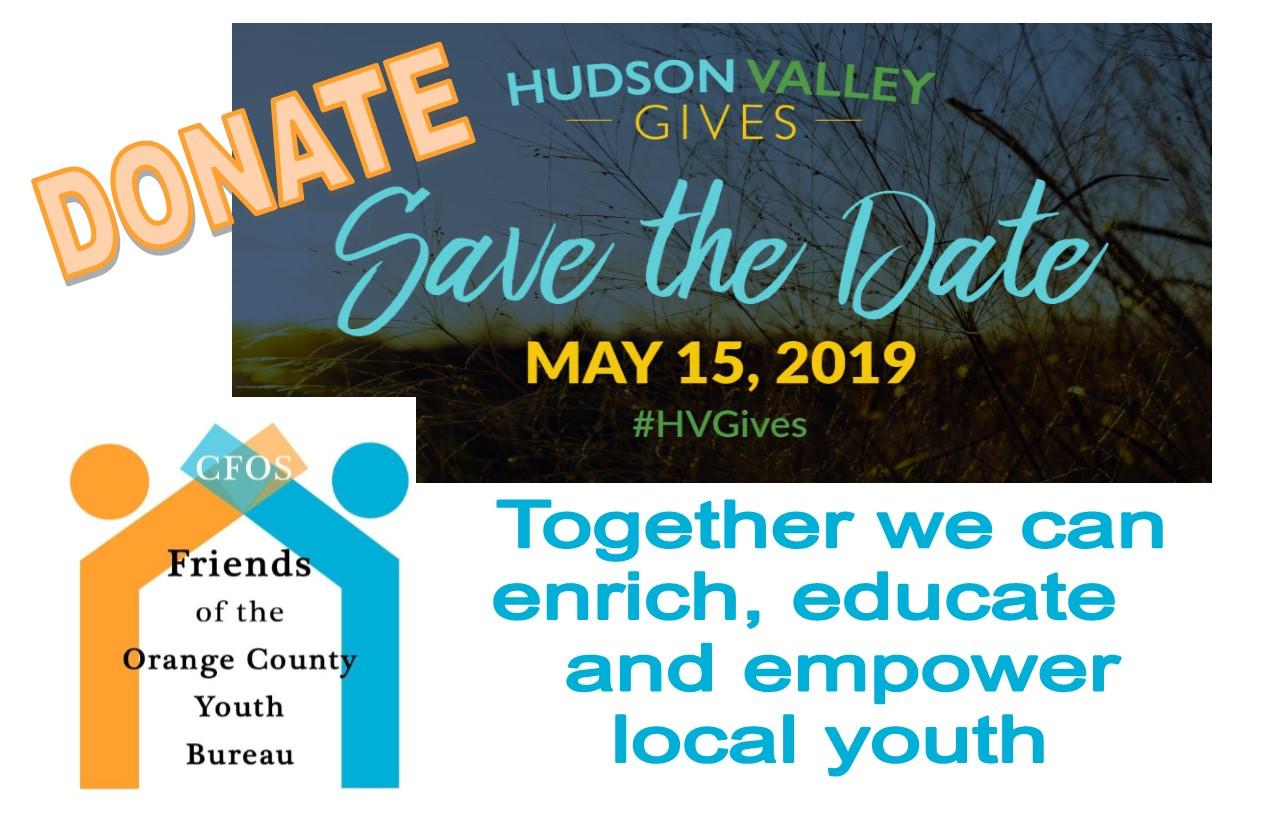 Hudson Valley Gives - May 15th
